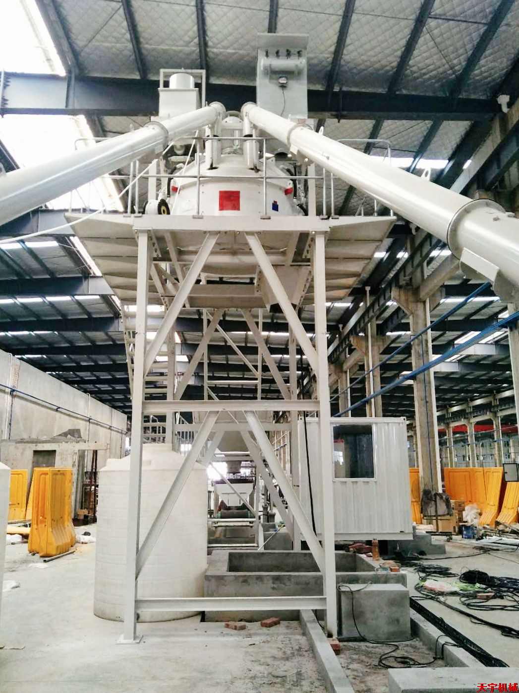 装配式建筑pc生产线